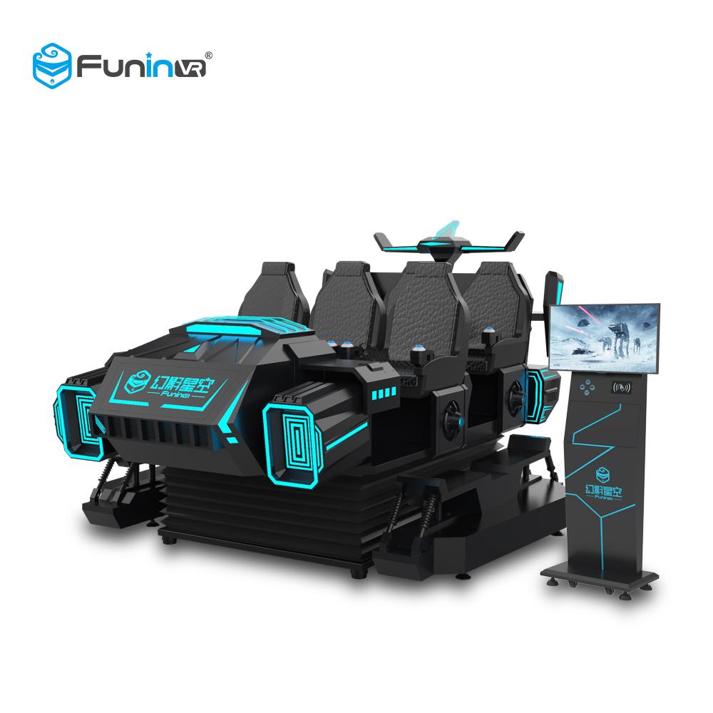 6 seats VR machine Dark Mars2
