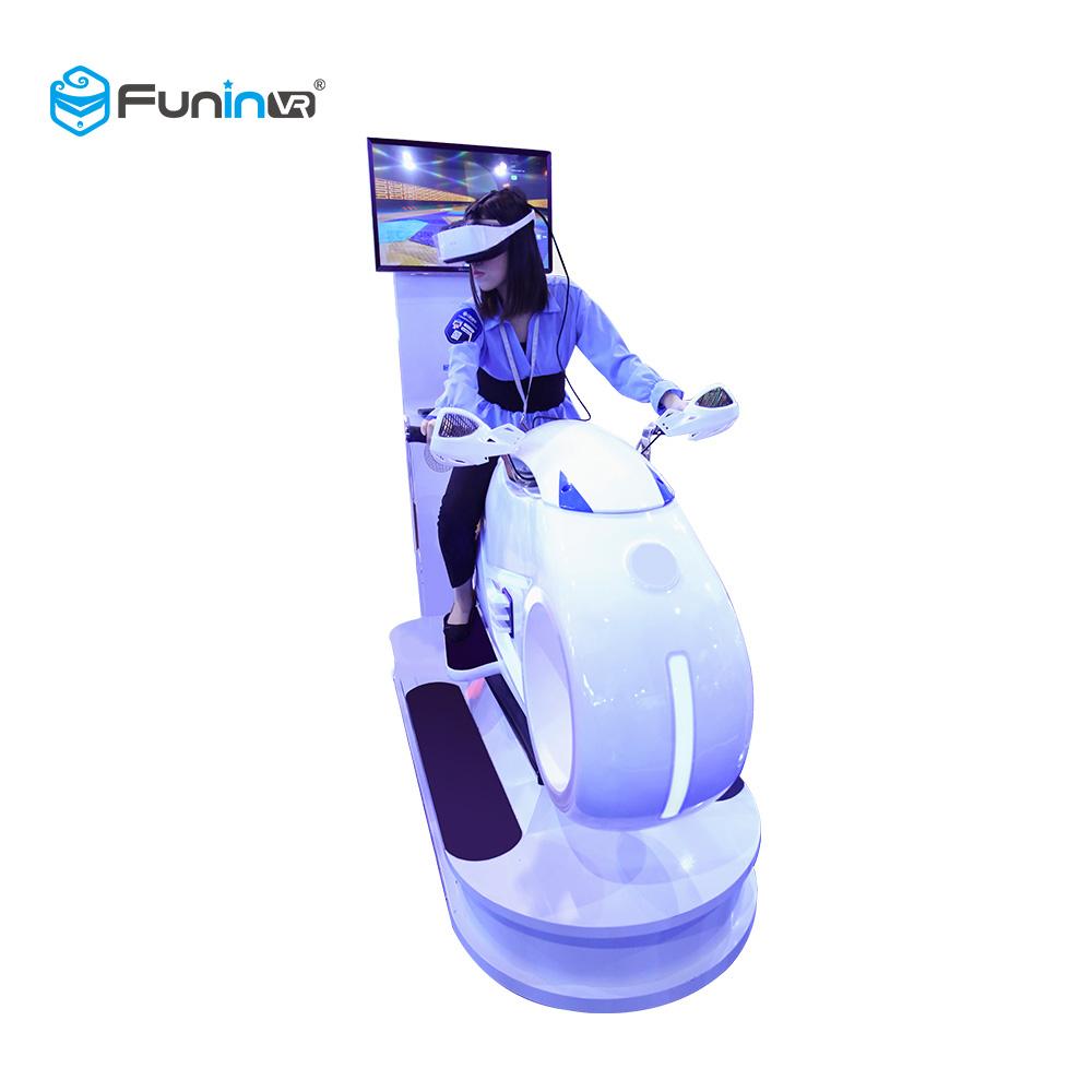 FuninVR 9D Virtual Reality Racing Moto VR Simulator
