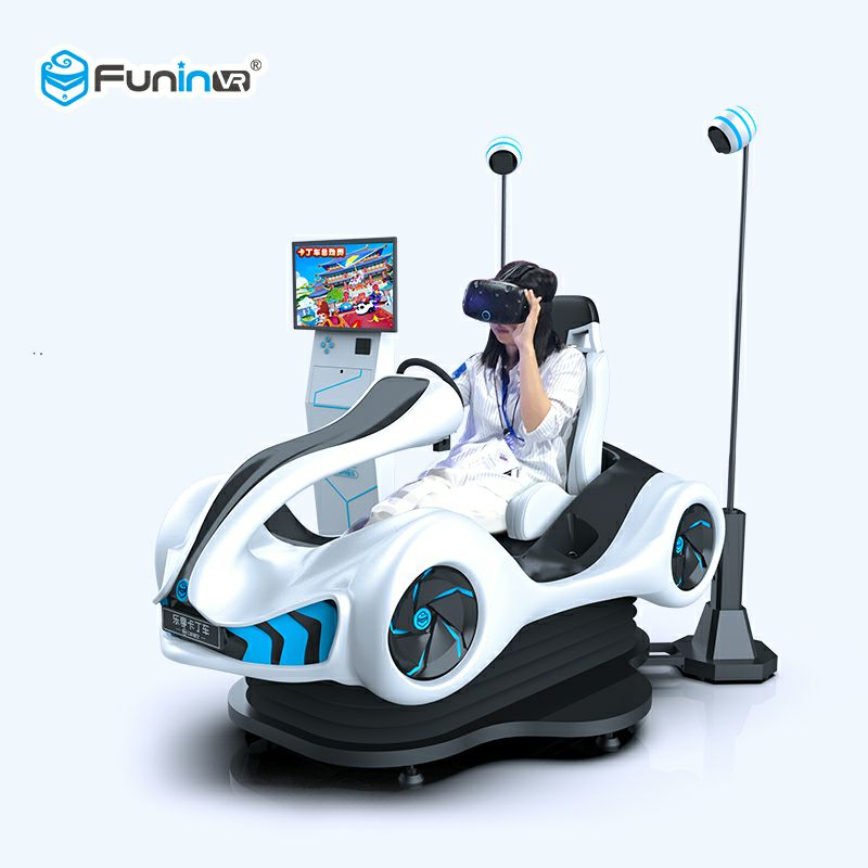 FuninVR 9D Virtual Reality Racing Kart VR Simulator