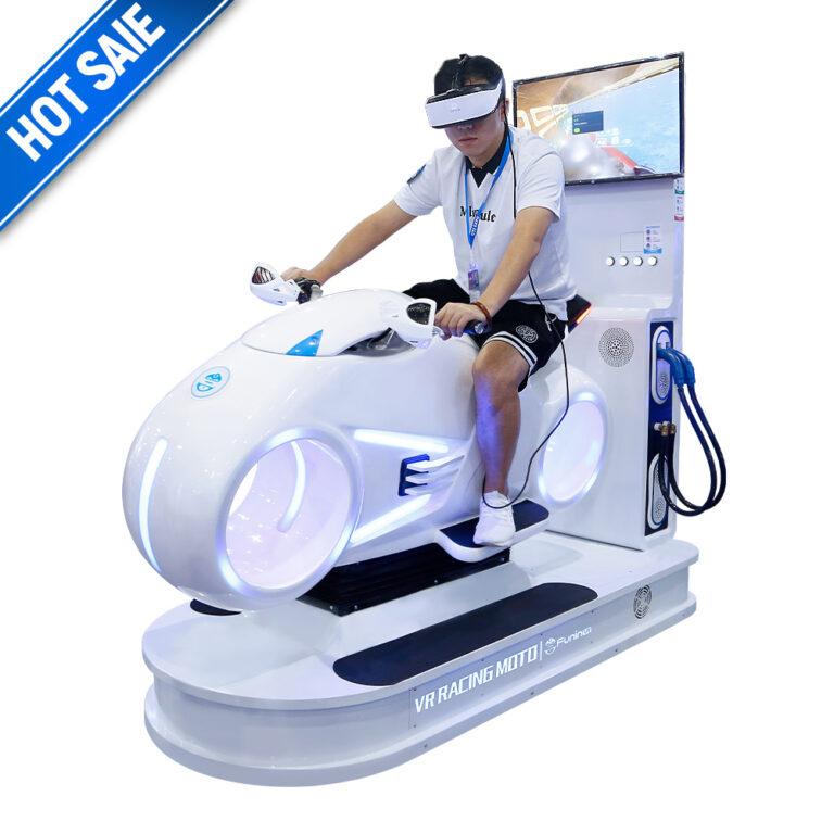9D VR Cinema Virtual Reality Simulator VR Game Chair Egg Machine - FuninVR
