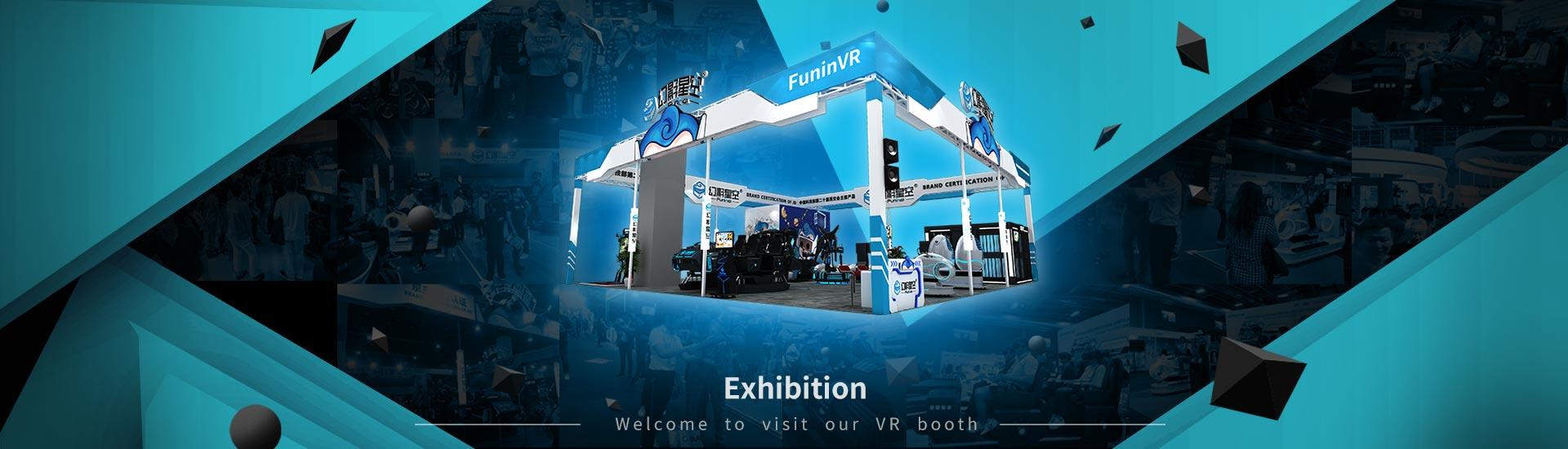 Guangzhou Zhuoyuan 9dVR Simulator manufacturer Build Successfully In Canton Fair